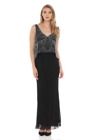 V-Neck Popover Blouse dress