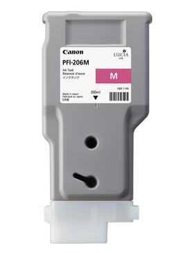 PFI-206M - Pigment Magenta Ink Tank 300m
