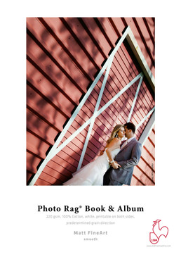 Photo Rag® Book & Album - short grain