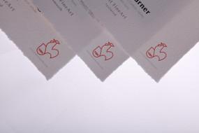 "8.5"" x 11"" Hahnemuhle Wm Turner 310gsm Deckle Edge 25 Sheets"