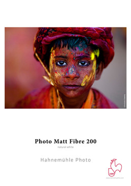 "8.5""x11"" Hahnemuhle Photo Matt Fibre 200 gsm 25 Sheets"