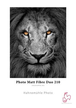 "8.5x""11"" Hahnemuhle Photo Matt Fibre Duo 210 gsm 25 Sheets"