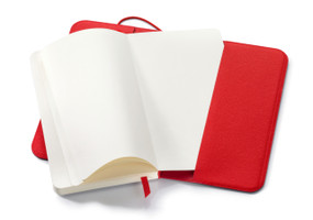 """7.5""""x4.5"""" Hahnemuhle Diary Flex Notebooks with Refills - Blank, 80 sheets"""