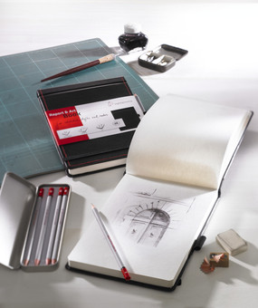 """4.1"""" x 5.8"""" Hahnemuhle Report & Art Book 130gsm, 64 Sheets"""