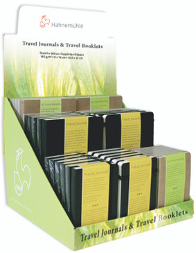 Hahnemuhle Filled Counter Displays - Travel Full Refill