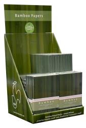 Hahnemuhle Filled Counter Displays - Bamboo