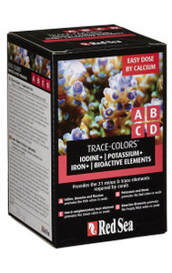 Red Sea Coral Coloration ABCD Supplements - 100ml - 4 pk