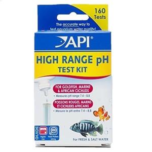 API Test Kit High Range pH for Freshwater & Saltwater