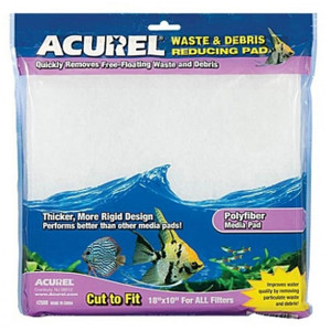 Acurel Poly Fiber Media Pad 10x18""