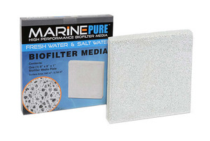 "MarinePure High Performance Biofilter Media 8""x8""x1"" Plate"