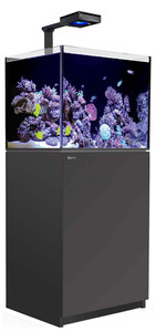 Red Sea Reefer Deluxe Concept 170 Aquarium (Black) 34 Gallons with ReefLED 90 Light Fixtures