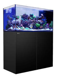 Red Sea Reefer 500 Peninsula 105 Gallon Rimless Aquarium - Black