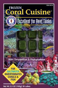 San Francisco Bay Brand Frozen Coral Cuisine Food Cubes 3.5oz