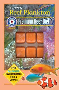 San Francisco Bay Brand Frozen Reef Plankton Fish Food Cubes 3.5oz