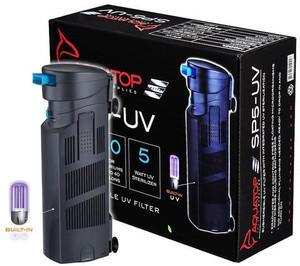 AquaTop Adjustable Flow Submersible UV Filter SP5UV (5 Watt)