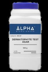 DERMATOPHYTE TEST AGAR (D04-107)