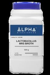 Lactobacilli MRS Broth [LMRS Broth] (L12-104)