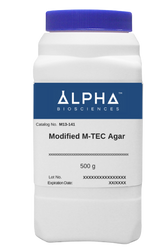 Modified M-TEC Agar (M13-141)-CURRENTLY DISCONTINUED