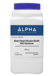 BRAIN HEART INFUSION BROTH W/O DEXTROSE (B02-114)