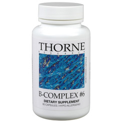 Thorne Research B-Complex #6 60 Veggie Caps