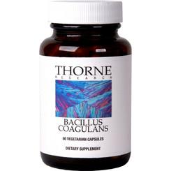 Thorne Research Bacillus Coagulans 60 Veggie Caps