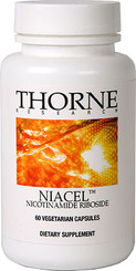 Thorne Research Niacel Nicotinamide Riboside 60 Veggie Caps