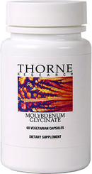 Thorne Research Molybdenum Glycinate 60 Veggie Caps