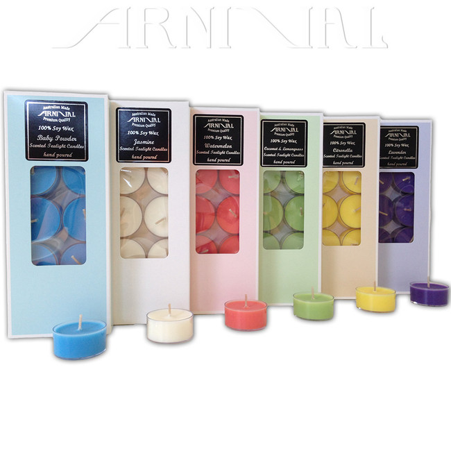 117 Scents to choose from - Natural (Cream White) or Colored