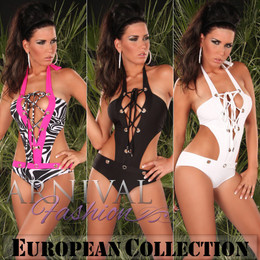 HOT WOMEN SWIMWEAR SWIMSUIT cheeky MONOKINI BATHING SUIT BEACH ladies beachwear