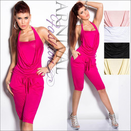 SEXY ROMPER OVERALL playsuits SLEEVELESS JUMPSUIT SHORT PANTS sleeveless top AU