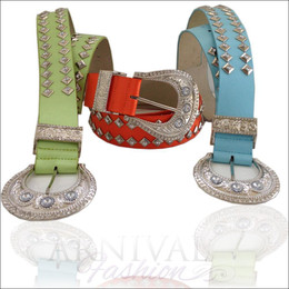 SEXY WOMEN LEATHER BUCKLE BELT 8 10 12 14 HOT FASHION BELTS M L JEANS WAISTBAND
