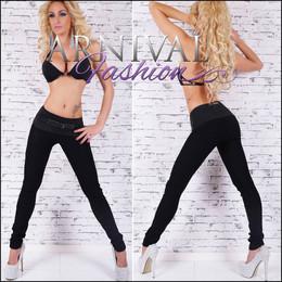 SEXY WOMENS BLACK PANTS SKINNY stretch HOT PANTS skin tight TROUSERS leggings au