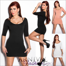 WOMEN SEXY MINI DRESS summer bodycon short sleeve PARTY EVENING COCKTAIL casual