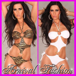 WOMEN SEXY PADDED SWIMWEAR push up SWIMSUIT BEACHWEAR MONOKINI bathing suit BRA