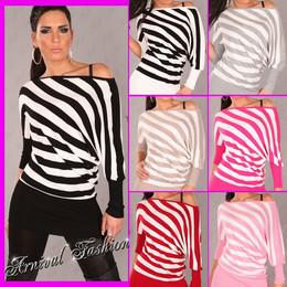 WOMEN JUMPER KNITTED LONG SLEEVE casual TOP DRESS SWEATER pullover S knitwear AU