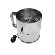 Crown Brands Rotary Flour Sifter