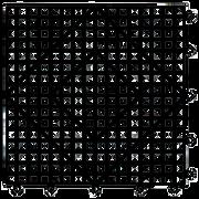 San Jamar Versa-Mat VM5280BK-12