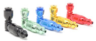 "3.5"" Anodized Metal Chamber Pipe - Assorted"