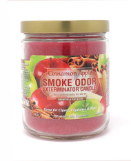 Smoke Odor Exterminator Candle 13oz Jar - Cinnamon Apple