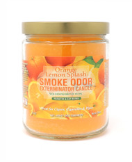 Smoke Odor Exterminator Candle 13oz Jar - Orange Lemon Splash