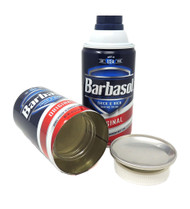 Barbasol Shaving Cream Can Safe