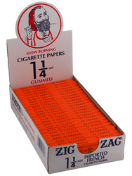 Zig Zag 1.25 French Orange Slow Burning Rolling Papers