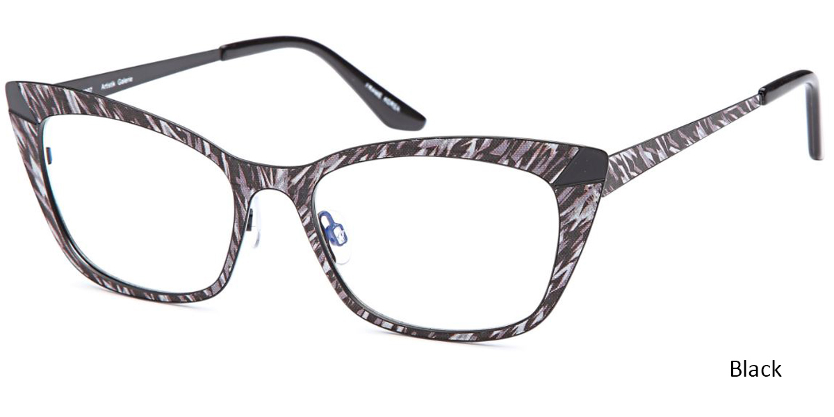 46201a67d21 These cat-eye glasses are extremely fashionable and fun. The bold pattern  makes them a bold statement while the neutral colors tone them down enough  to wear ...