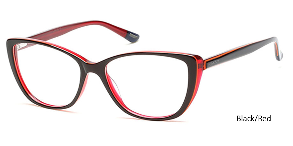 79b34a3b6ef This pair is a bold and fun way to wear the cat-eye trend. The black frames  tone these down and make them wearable for everyday while the red  surrounding ...