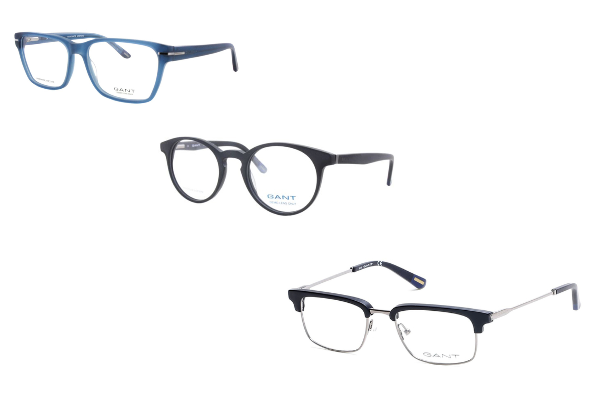 165540450ed We definitely recommend investing in a pair of semi rimless frames carries gant  eyeglasses for both