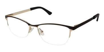 Black Gold Superflex Titan SF-1075T Eyeglasses.