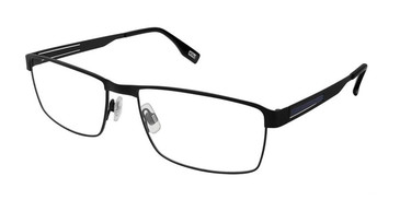 Black Blue Evatik 9176 Eyeglasses.