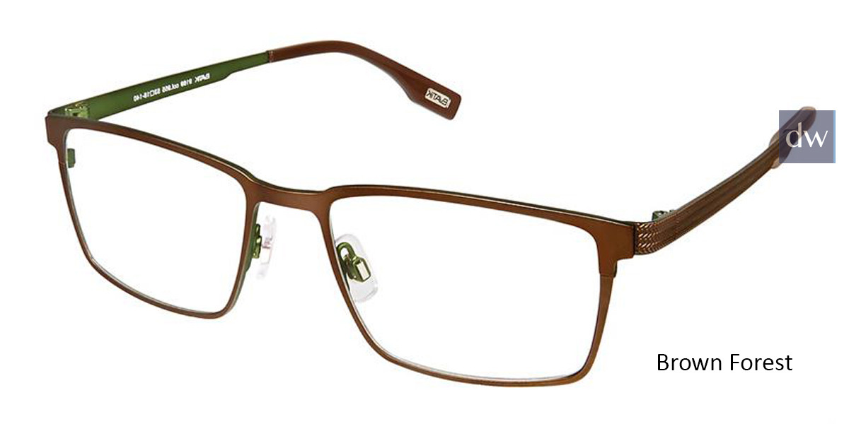 Brown Forest Evatik 9169 Eyeglasses.