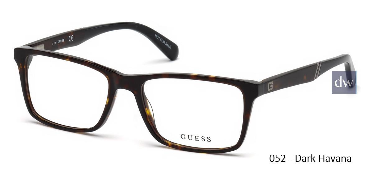 052 - Dark Havana Guess GU1954 Eyeglasses