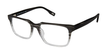 Grey Smoke Evatik 9147 Eyeglasses.